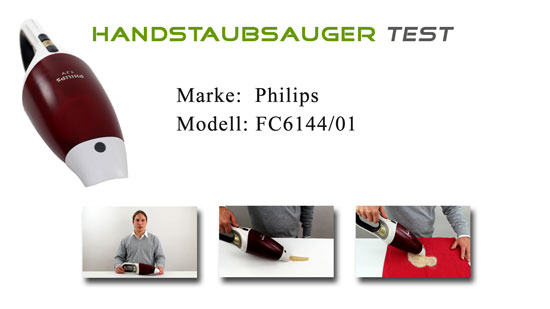 Handstaubsauger Test Philips FC6144/01